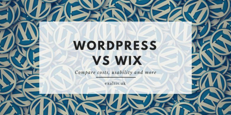 WordPress vs Wix Comparison