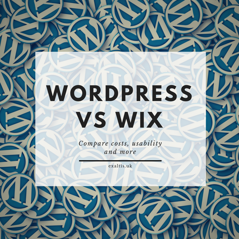 WordPress vs Wix Comparison
