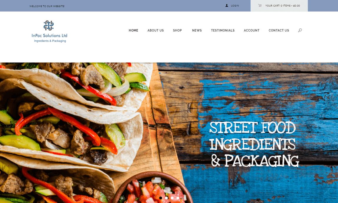 InPac Solutions Ltd | Street Food Supplies