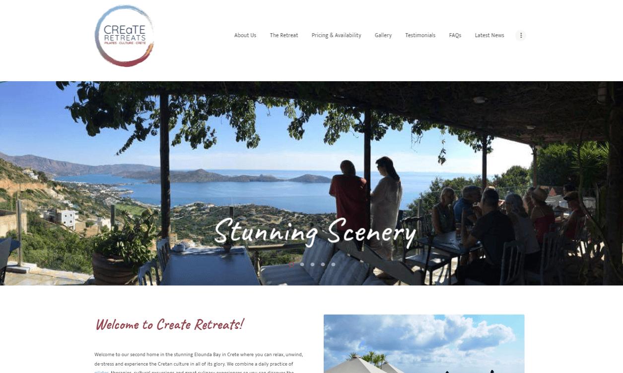 Create Retreats Crete | Exaltis