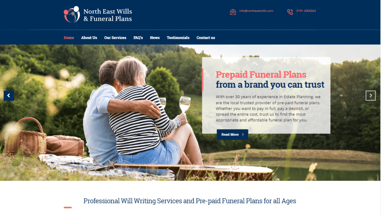 North East Wills and Funeral Plans Newcastle