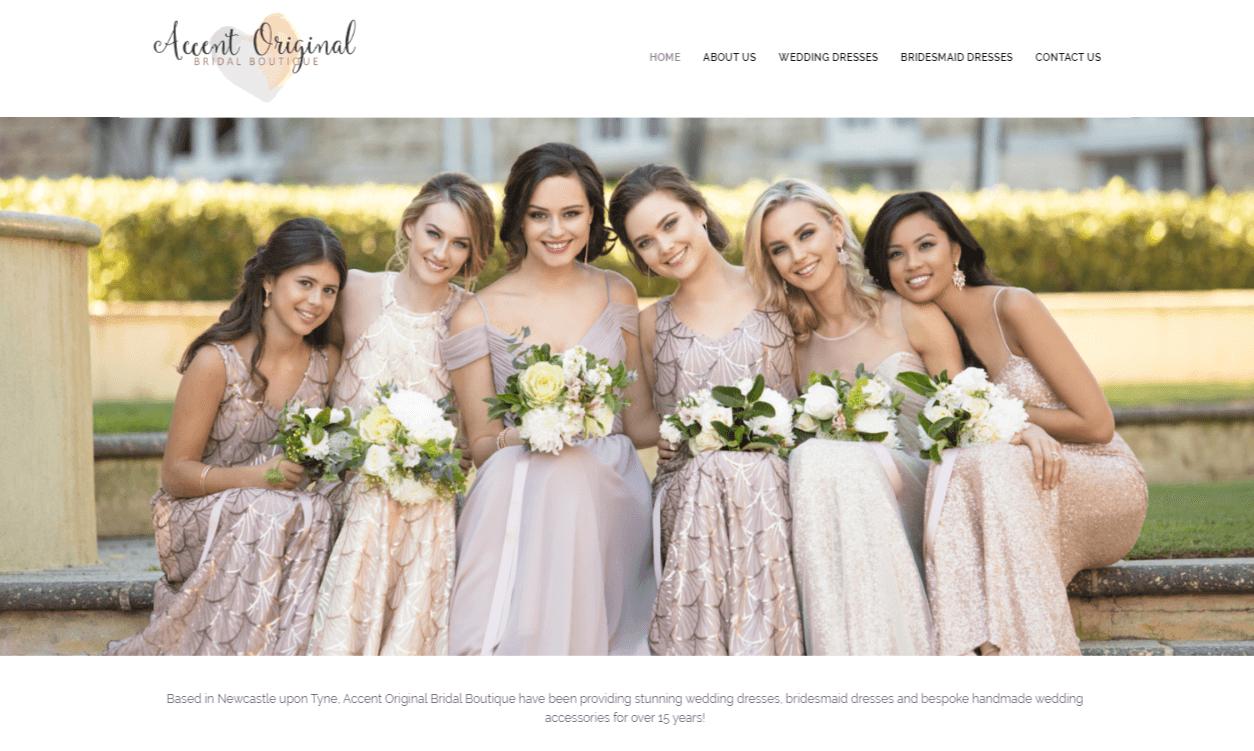 Accent Original Bridal Boutique Newcastle | Exaltis